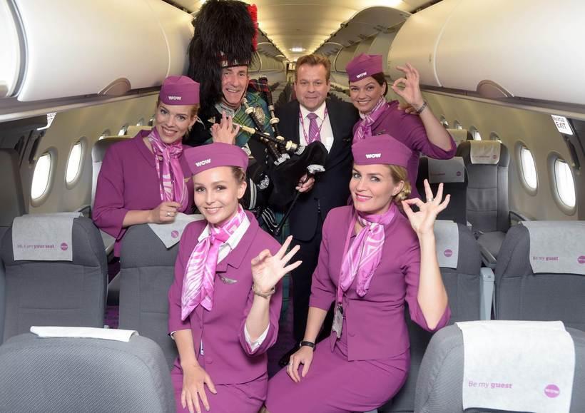 First flight to Edinburgh in 2016.
