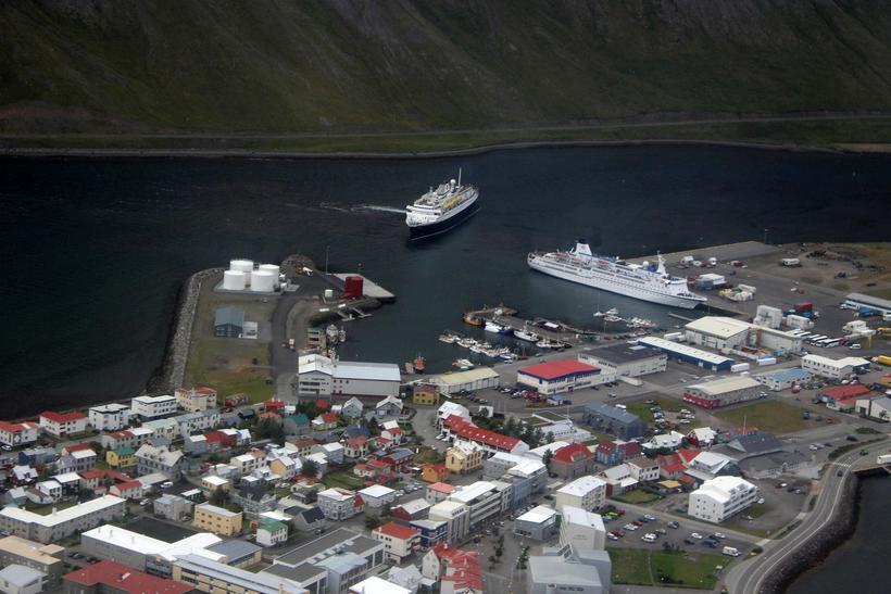 Ísafjörður.