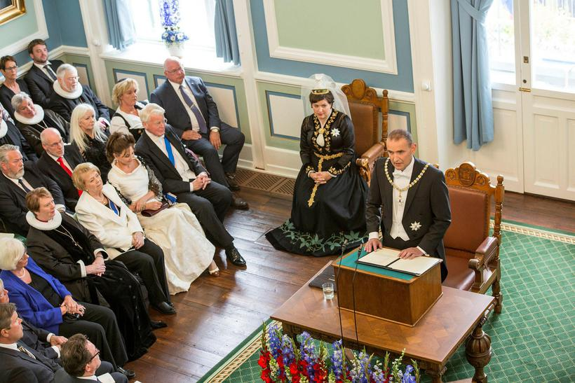 President of Iceland, Guðni Th. Jóhannesson delivers his inauguration address. ...