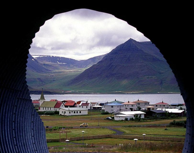 Flateyri is a small coastal town in the West Fjords.