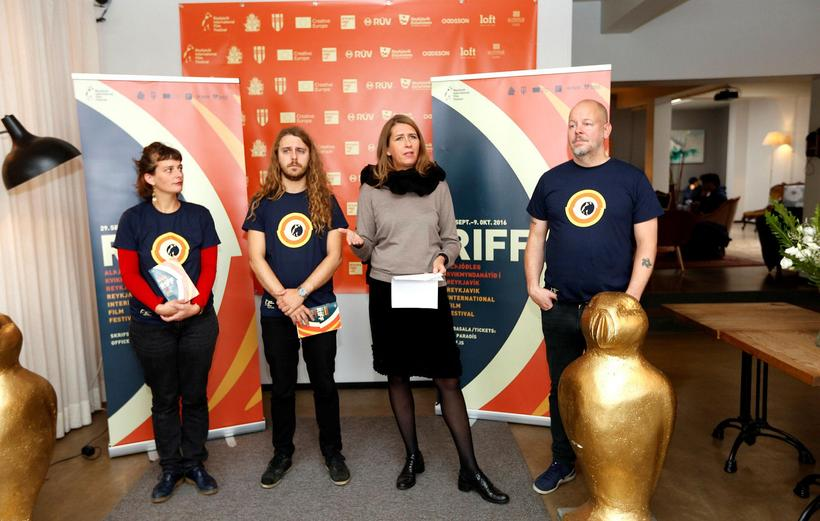 RIFF presents their 2016 programme at a press meeting. Directo …