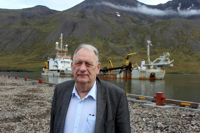 Gunnar I. Birgisson bæjarstjóri Fjallabyggðar.