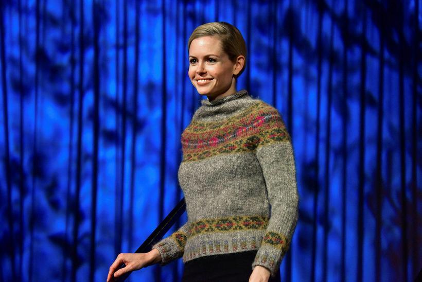 The Hildur woolen jumper got awarded first prize at a ...