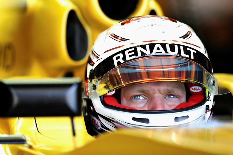 Framtíð Kevin Magnussen hjá Renault er í óvissu.
