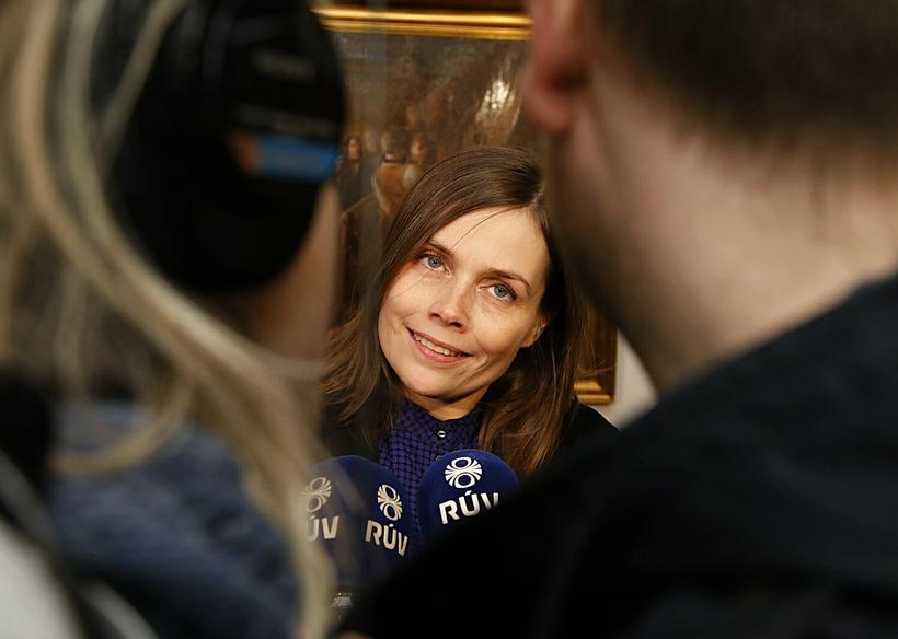 Katrín Jakobsdóttir.