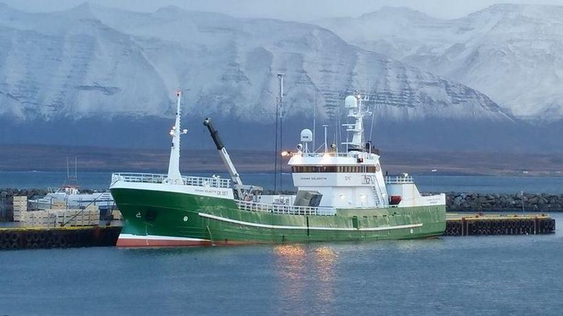 Jóhanna Gísladóttir GK-557 er meðal stærstu línubáta landsins.
