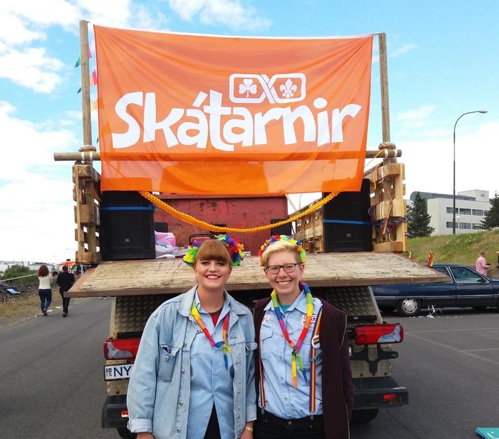 Bergþóra Sveinsdóttir og Hjördís Björnsdóttir.