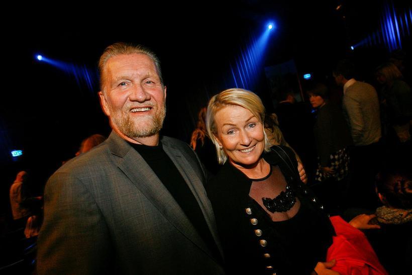 Gunnar og Jónína Benediktsdóttir.