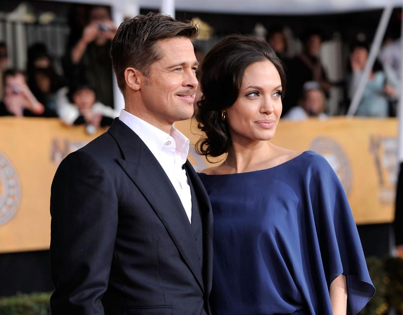 Brad Pitt og Angelina Jolie tilkynntu um skilnað árið 2016 ...