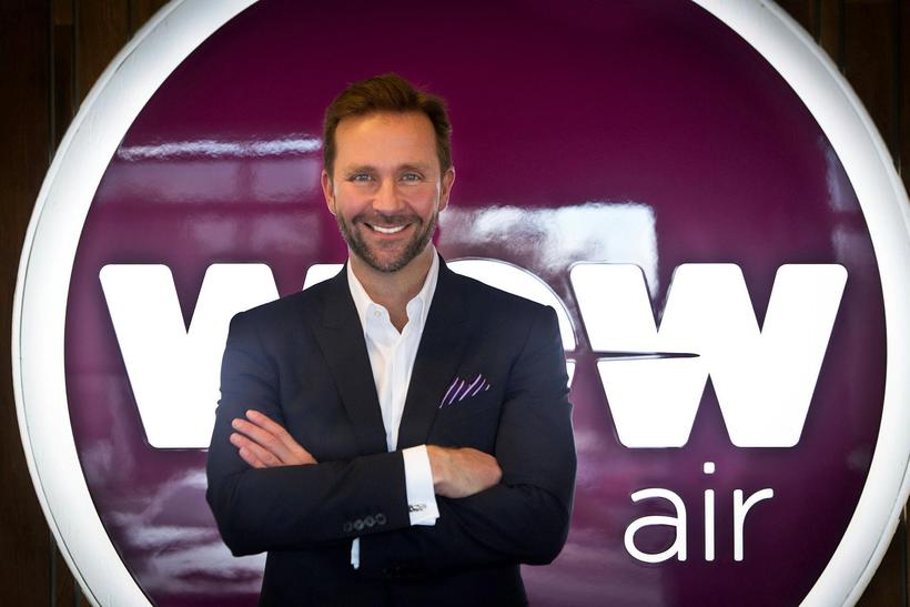 Skúli Mogensen stofnaði flugfélagið WOW air árið 2012.