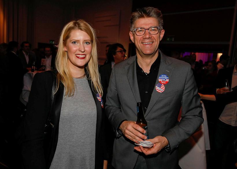 Sunna Gunnars Marteinsdóttir og Gunnar Bragi Sveinsson.