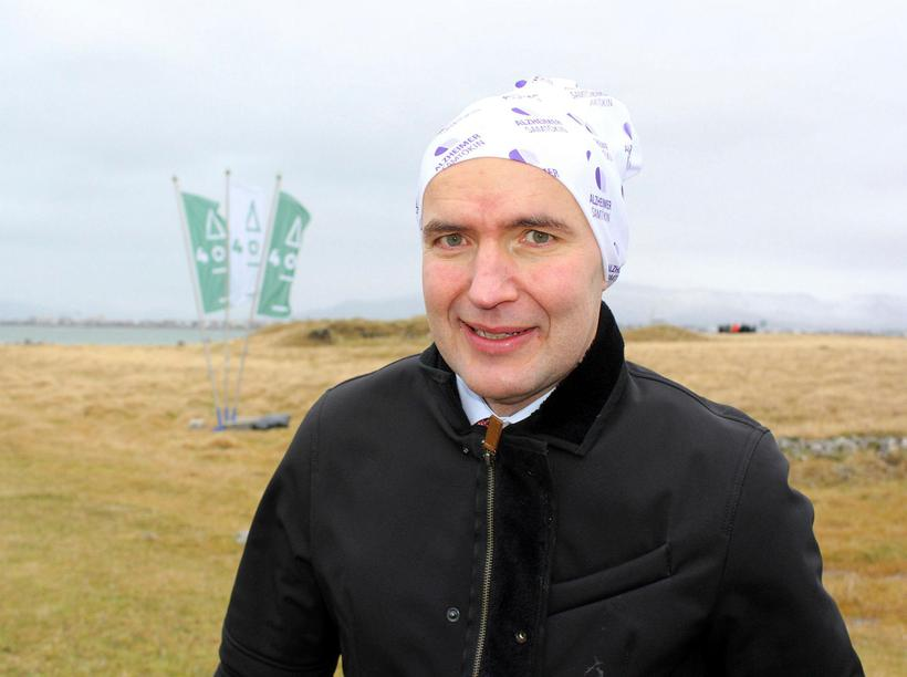 Guðni Th. Jóhannesson, President of Iceland wearing Buff headwear in ...