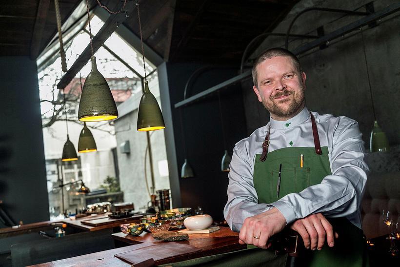 Icelandic chef Gunnar Karl Gíslason, here photographed at the renowned ...
