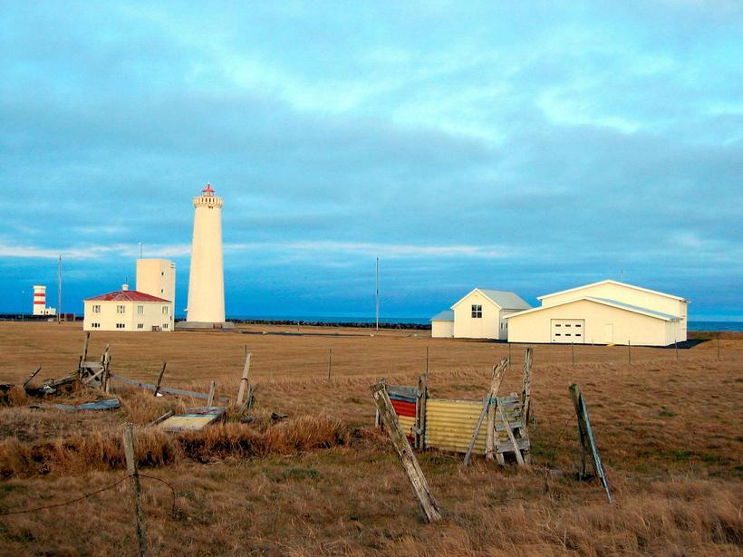 Garðskagaviti lighthouse.