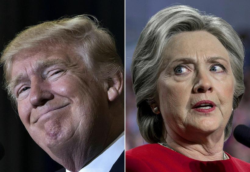 Hillary Clinton líkti Donald Trump við Richard Nixon í ræðu ...