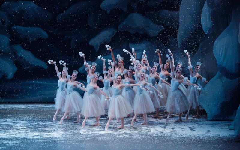 The New York City Ballet performing the Nutcracker