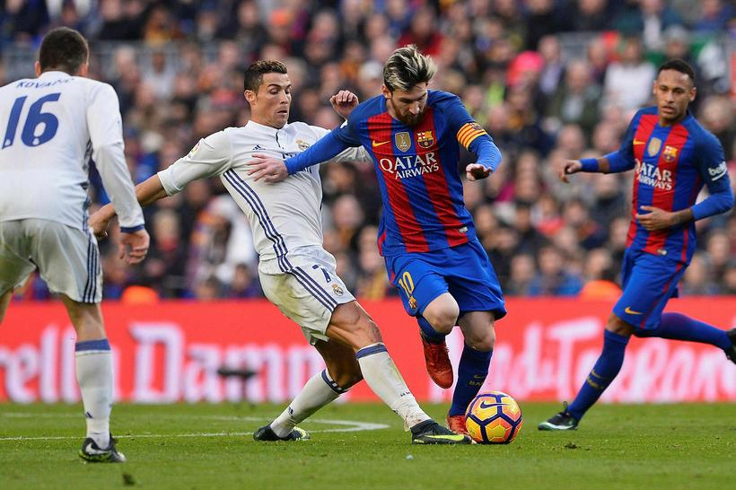 Samkeppnin á milli Cristiano Ronaldo og Lionel Messi sem hefur …
