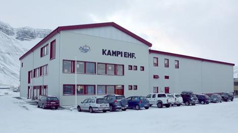 Starfstöðvar Kampa á Ísafirði.