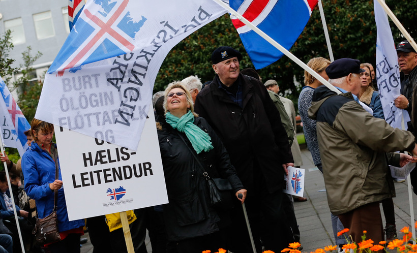 Members of the Icelandic National Front.