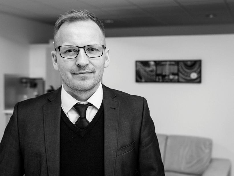 Valdimar Þór Svavarsson, ráðgjafi hjá Fyrsta skrefinu.