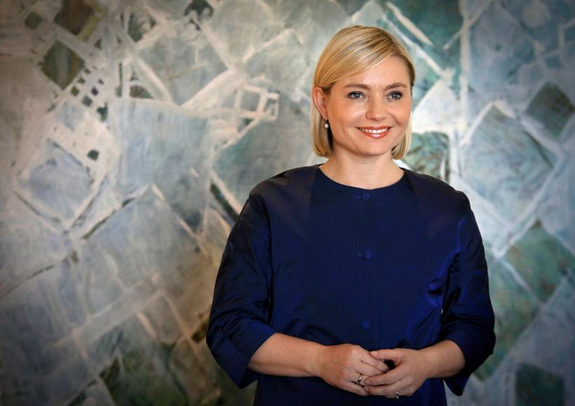 Lilja Alfreðsdóttir, mennta- og menningarmálaráðherra, var í pallborði á málþinginu.