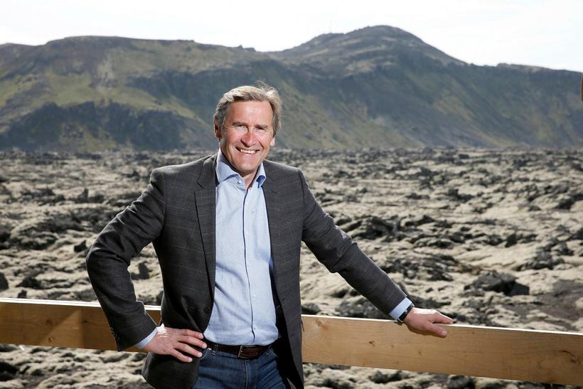 Grímur Sæmundsen, formaður Samtaka ferðaþjónustunnar.