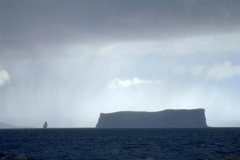 Drangey island is one of the icons of Skagafjörður.