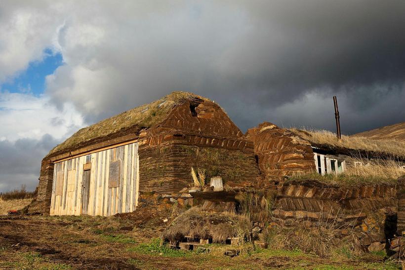 The old farm, Tyrfingsstaðir.