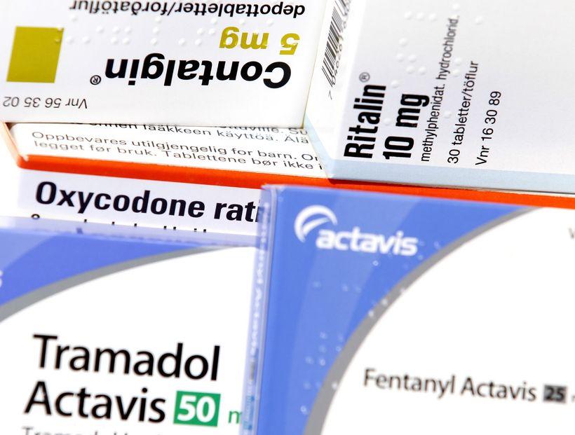 Undir flokk ópíóíðalyfja falla m.a. contalgin, oxycodone og fentanýl sem …