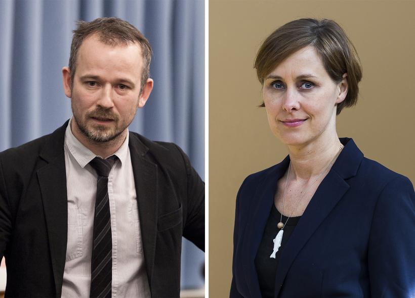 Brynhildur Pétursdóttir og Róbert Marshall hverfa af pólitíska sviðinu, í ...