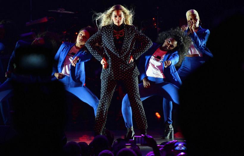 Drottningin Beyonce sveik ekki aðdáendur sína á árinu 2016 frekar ...