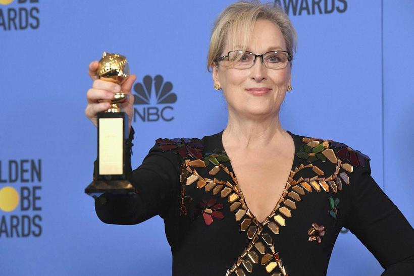Meryl Streep mætir ef til vill í svörtu á Golden ...