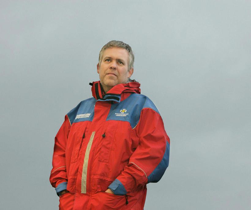 Jónas Guðmundsson, expert at the Landsbjörg SAR team.