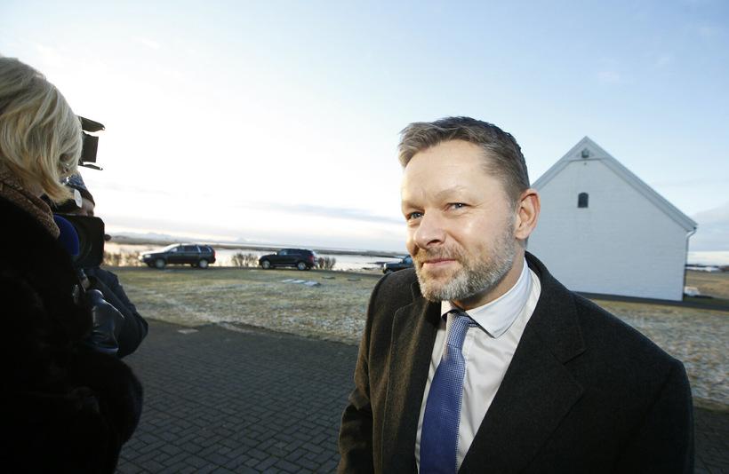 Þorsteinn Víglundsson, félags- og jafnréttismálaráðherra.