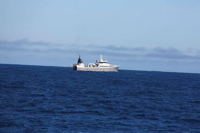 Grænlenski togarinn Polar Nanoq er væntanlegur til hafnar í Hafnarfirði ...
