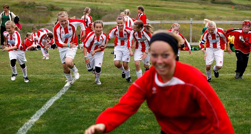 Football is a popular sport in Iceland.