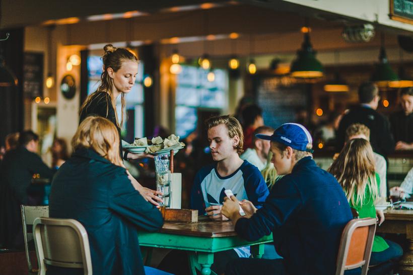 Kex Hostel's restaurant Sæmundur í Sparifötunum offers great food at ...