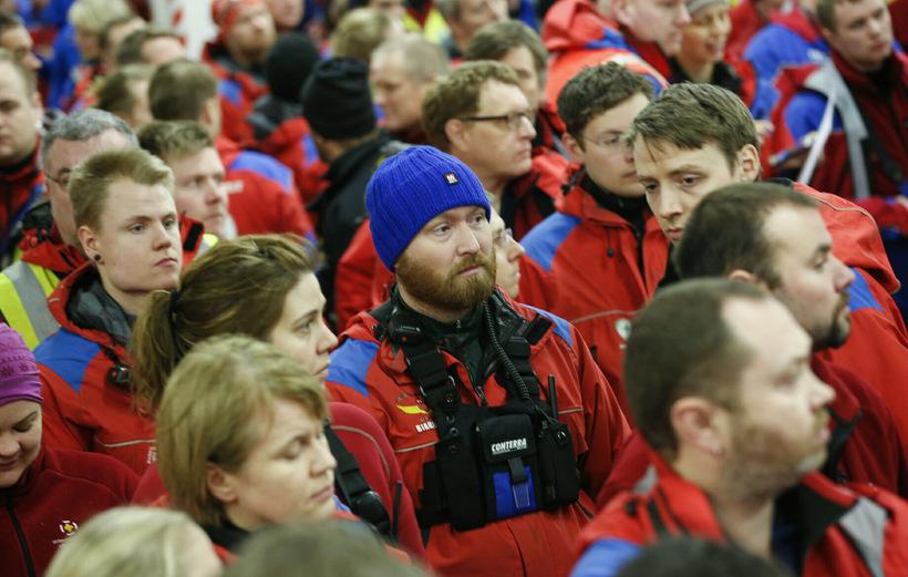 Yfir 800 björgunarsveitarmenn leituðu Birnu dag og nótt.