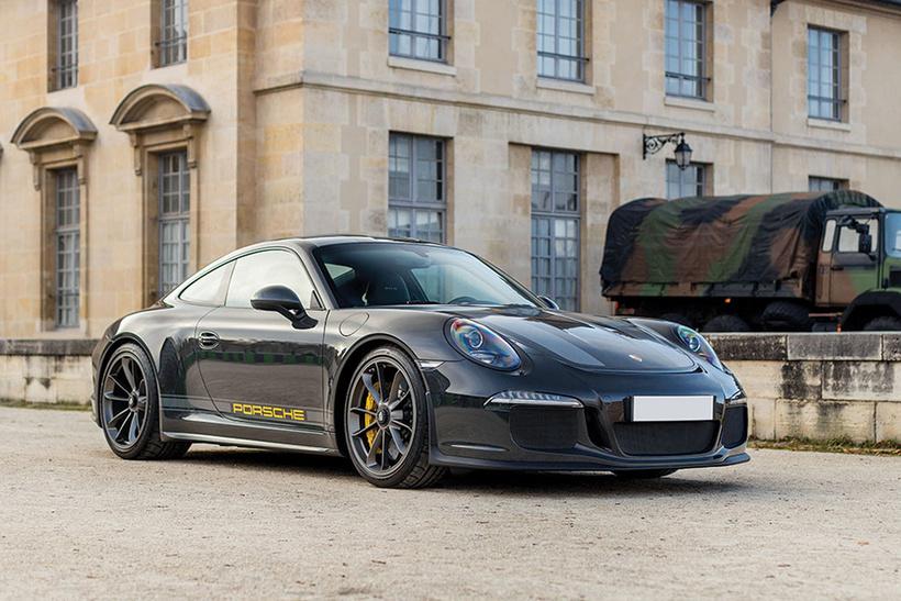 Það var vel til fundið hjá Porsche að framleiða McQueen ...