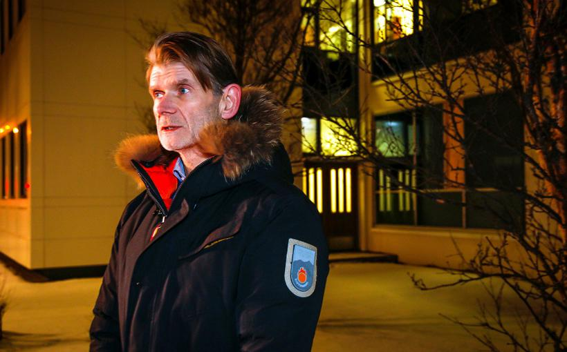 Police officer Grímur Grímsson who heads the investigation.