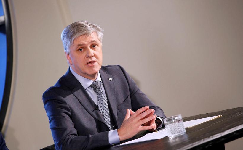 """""""Ignorant,"""" writes Benedikt Jóhannesson, Minister of Finance."""
