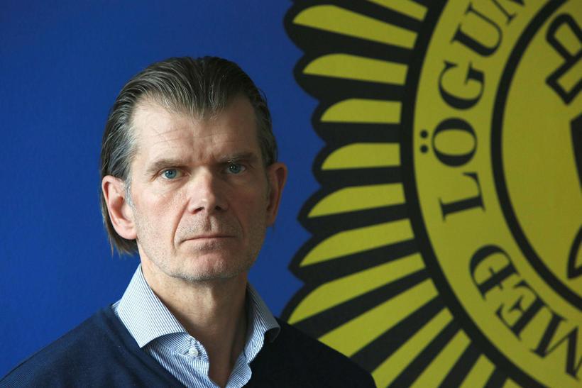 Chief superintendent Grímur Grímsson.