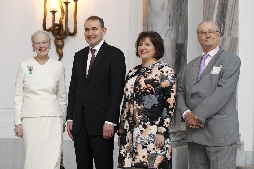 Guðni Th. Jóhannesson og Eliza Reid í opinberri heimsókn hjá ...