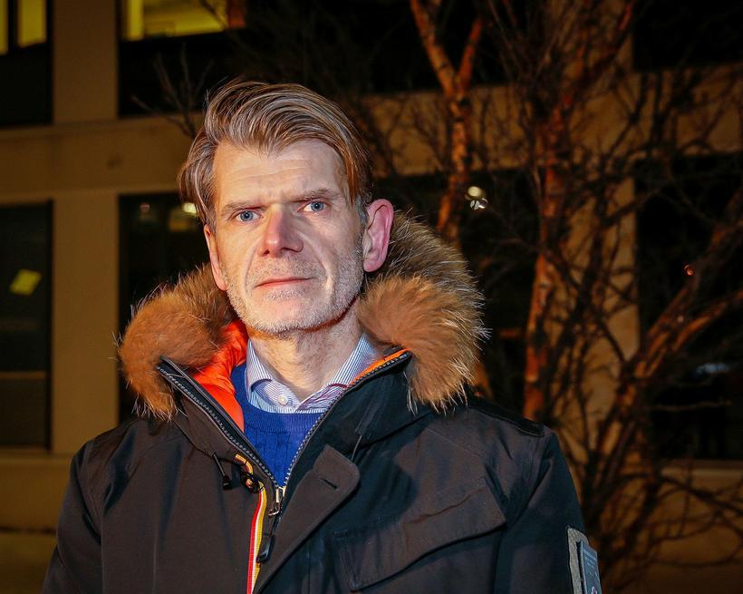 Grímur Grímsson, yfirlögregluþjónn.