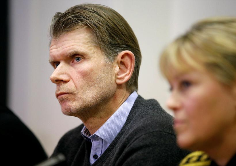Grímur Grímsson, who is heading the investigation at the Reykjavik ...