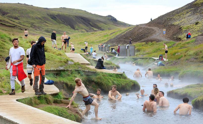 Talsverðra úrbóta er enn þörf í Reykjadal vegna átroðnings.