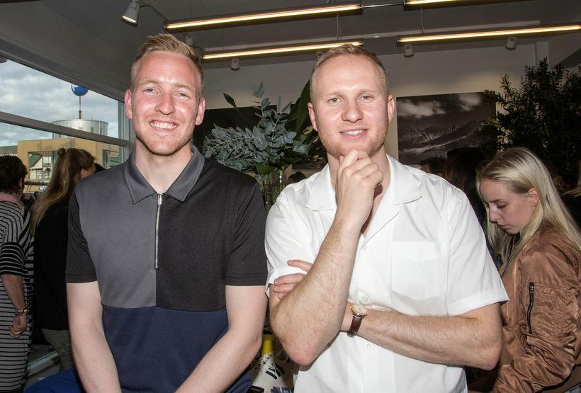 Sindri Snær Jensson and Jón Davíð Davíðsson, owners of Húrra.