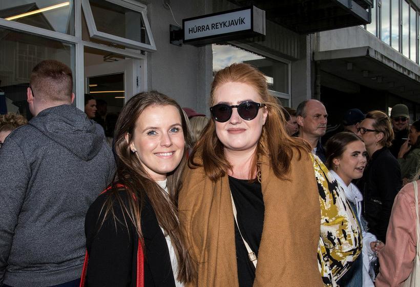 Karen Ármann Helgadóttir and Birna Dröfn Jónasdóttir.