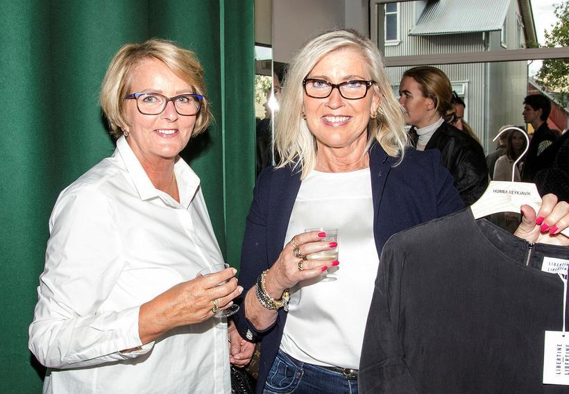 Birna Elísabet Sveinsdóttir and Elín Edda Benediktsdóttir.
