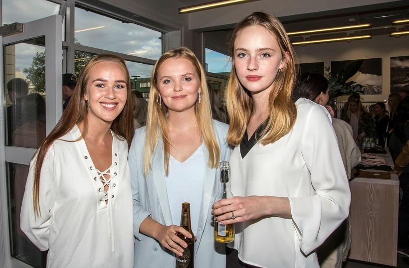 Silja Marín Jensdóttir, Margrét Anna Kristjánsdóttir and Brynja Jónbjarnardóttir.